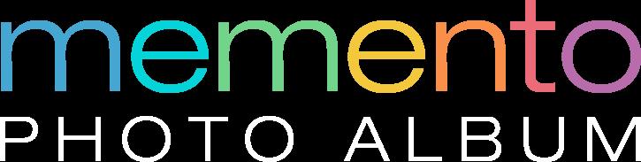 Memento Photo Album Logo